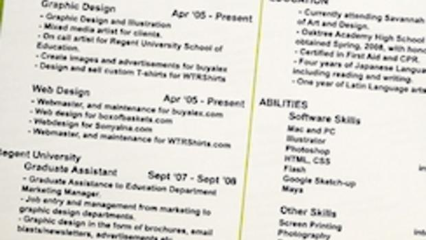 resume titles that stand out