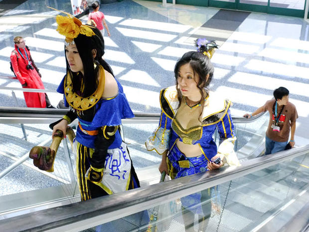 Anime characters come alive at expo