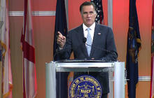 Romney booed by NAACP crowd