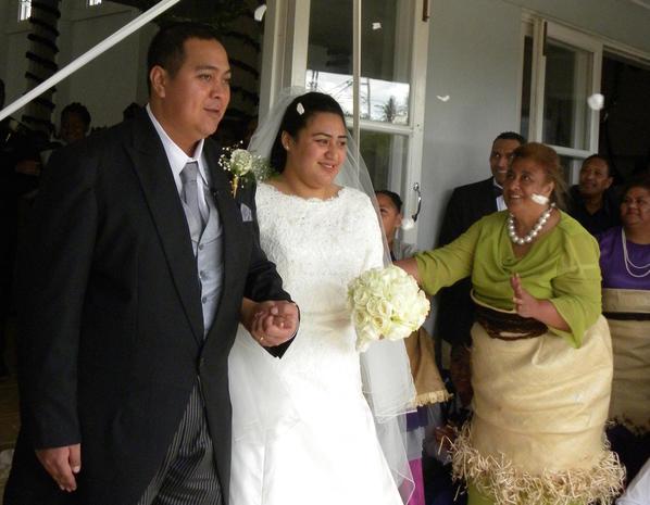 Royal wedding in Tonga