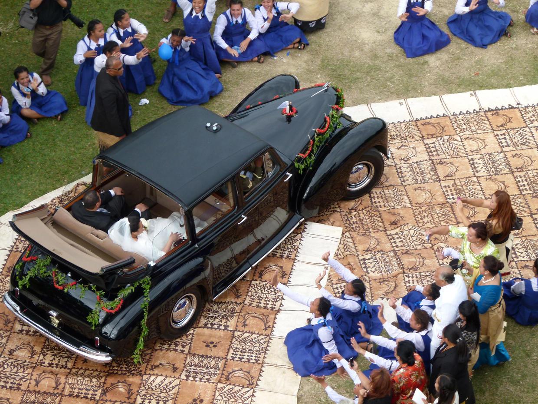 Tonga royal wedding