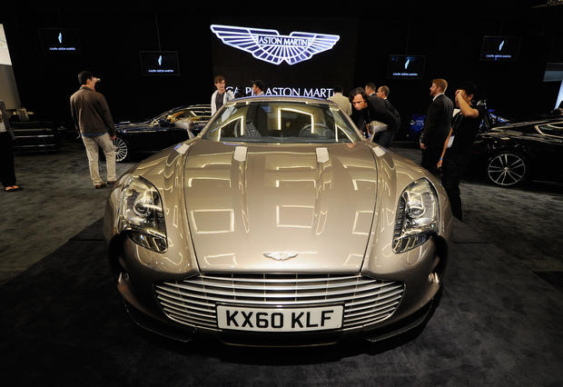 9 aston martin one77 top 10 fastest cars in the world