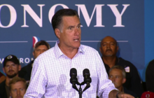 "Romney: ""Liberal policies don't make good jobs"""