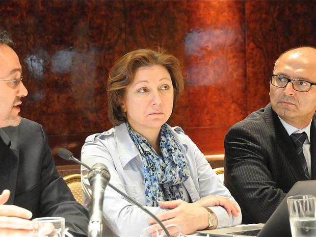 Syrian National Council, Khalid Saleh, Bassma Kodmani, George Netto