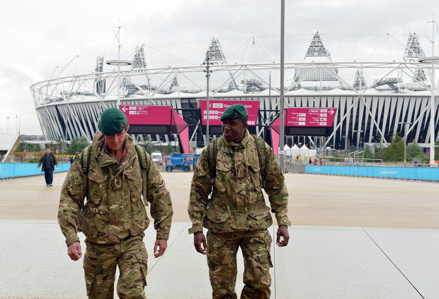 Olympic security in air, sea and land
