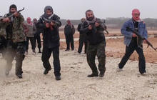 The progression of the Free Syrian Army