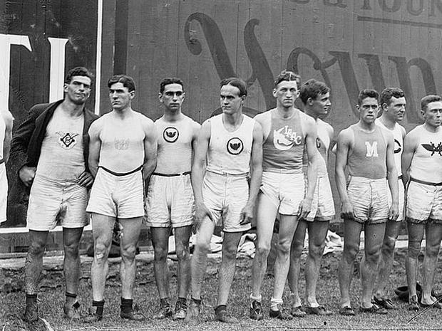 Olympics Games 100 years ago