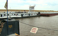 Drought making Miss. river dangerous to navigate