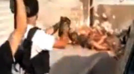 Syrian rebels execute members of a pro-Assad family