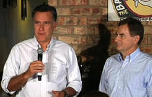 Romney trades praise with tea party's Richard Mourdock
