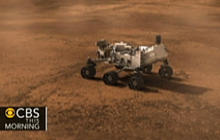 "Rover ""Curiosity"" lands on Mars, sends photos"