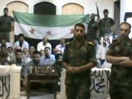 Syrian rebels guard Iranian hostages