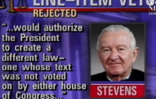Line item veto: June 25, 1998