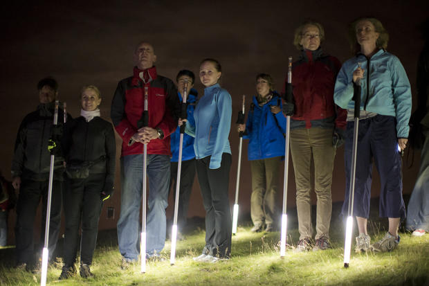 "Runners create ""The Speed Of Light"""