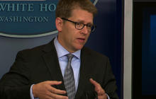 "Carney: Obama camp has ""no control over"" Priorities USA ad"