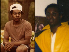 Jackie Rowe-Adams' 17-year-old son Anthony, left, and 28-year-old son Tyrone were both killed.
