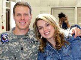 Capt. Ian Morrison and his wife, Rebecca.