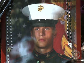 Marine Lance Cpl. Gregory Buckley