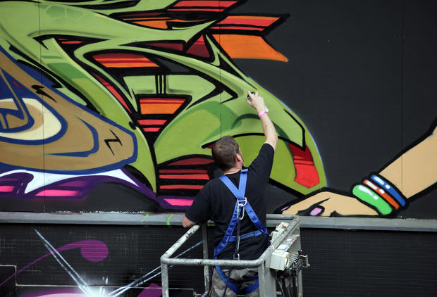 Europe's biggest street art festival