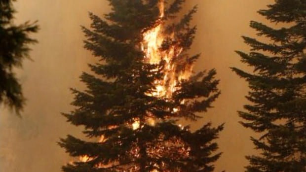 Wildfires threaten thousands of homes in Northern Calif.