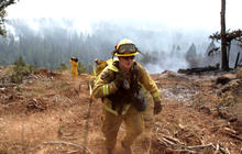 Calif. wildfires destroy 50 buildings