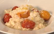 Lemon risotto: An easy make-ahead