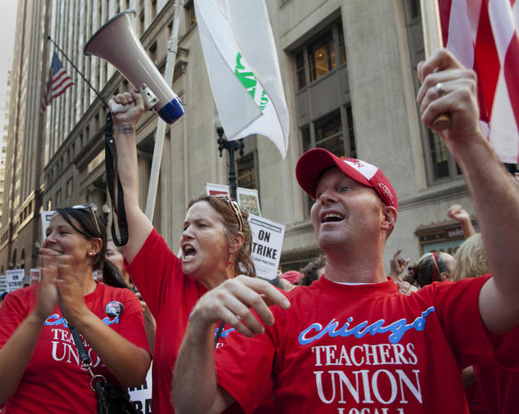 Chicago teachers strike