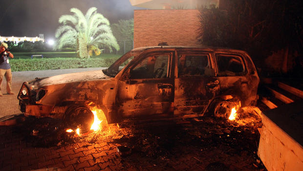 Libya Attack Images in Libya Consulate Attack
