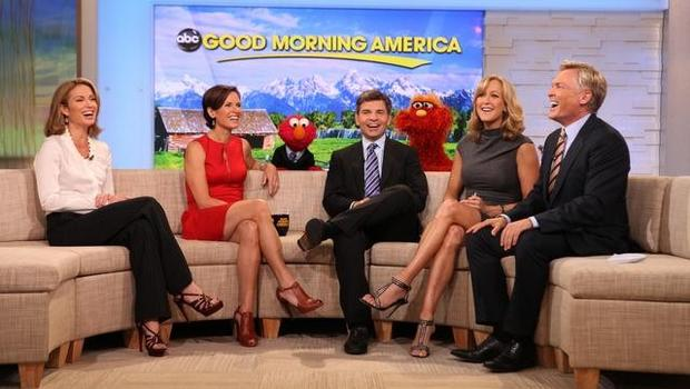 Good Morning America Show Today : Quot good morning america continues to beat today cbs news