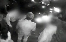 Lindsay Lohan's alleged hit and run surveillance video