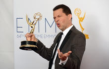 "Jon Cryer in ""enormous shock"" over Emmy win"
