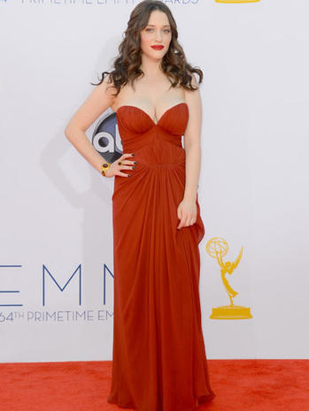 Emmy red carpet 2012