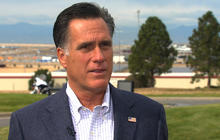 "Romney: Middle East turmoil ""hardly"" a bump in the road"