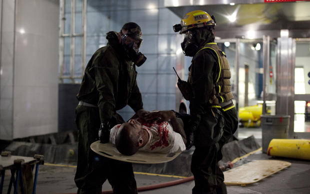 Chemical disaster drill in Penn Station