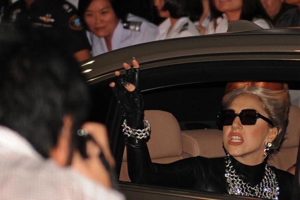 Celebrities caught off guard