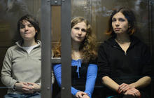 Russian punk band-member freed from jail