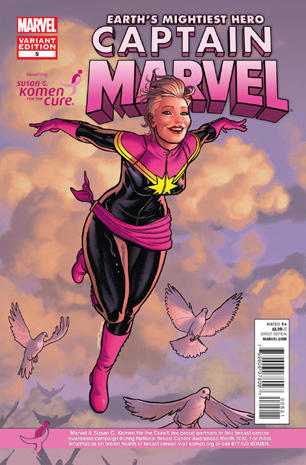 Marvel goes pink for breast cancer awareness