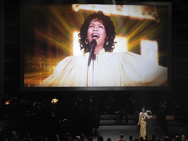 Whitney Houston tribute concert