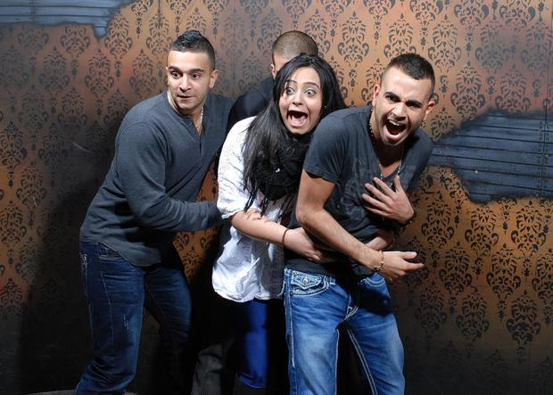 Terrified reactions at haunted house, Pt. 4