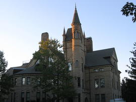 Peters Hall at Oberlin College in Oberlin, Ohio