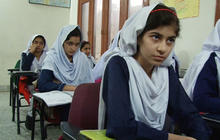 Malala Yousafzai's classmates carry on determination to learn