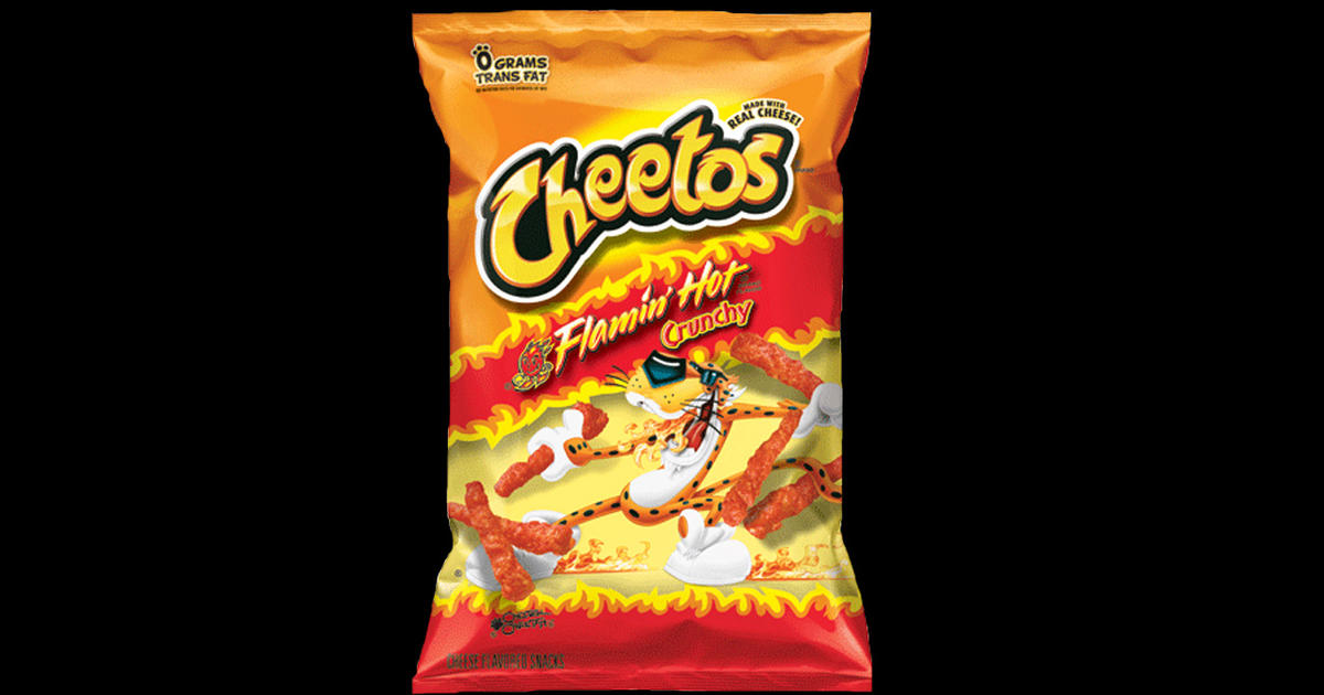 Why Flamin Hot Cheetos Are Sending Kids To Er Cbs News
