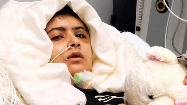Girl shot by Taliban comes out of coma