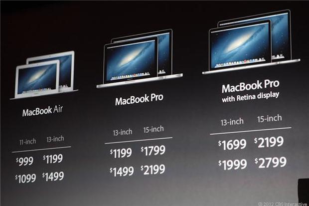 Apple launches iPad Mini, new MacBook Pro
