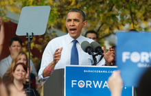 Obama on whirlwind campaign tour