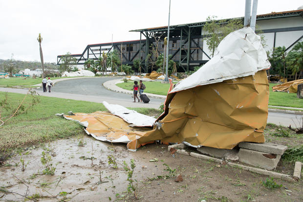 Hurricane Sandy inflicts damage in Cuba