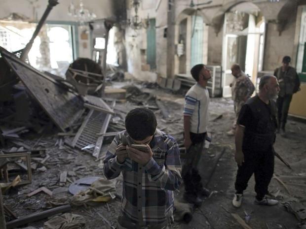 Syria's civil war: Images of horror