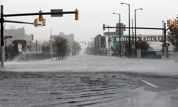 Hurricane Sandy slams Northeast