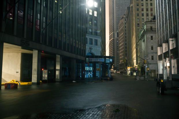 Superstorm floods New York City