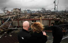 Breezy Point, Queens goes up in flames